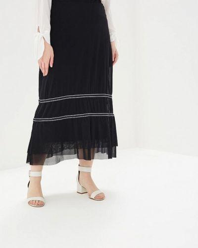 Юбка черная итальянский Keyra