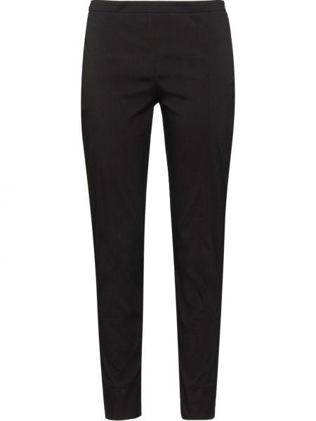 Spodnie czarne z kieszeniami Prada