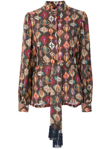 Блузка шелковая Michel Klein