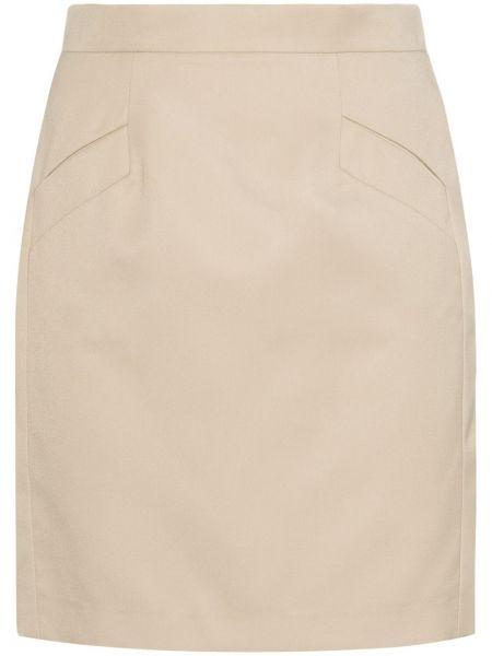 Плиссированная юбка мини с карманами Situationist