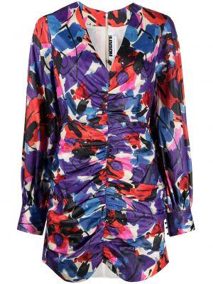 Платье макси длинное - фиолетовое Rotate
