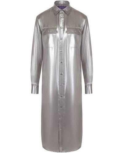 Платье платье-рубашка однотонное Ralph Lauren