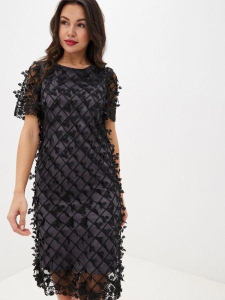 Черное вечернее платье Adzhedo