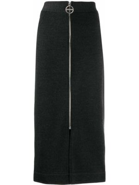 Spódnica ołówkowa z wysokim stanem wełniana Givenchy