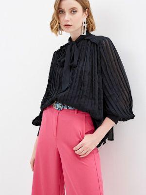 Блузка - черная Stefanel