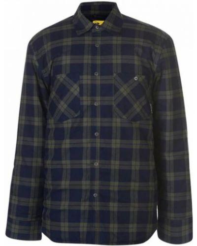 Фланелевая рубашка - зеленая Dunlop
