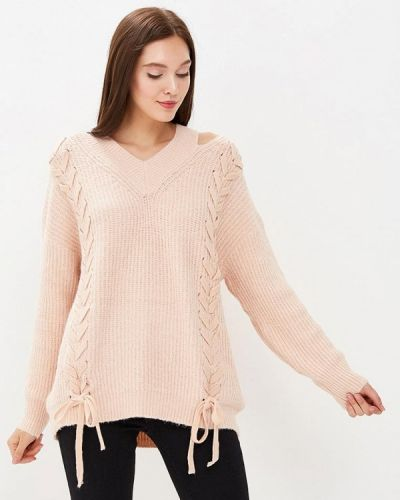 Пуловер розовый Zeza