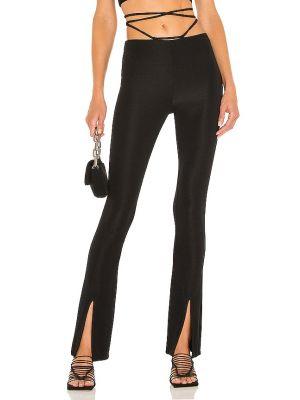 Czarne spodnie z nylonu Camila Coelho