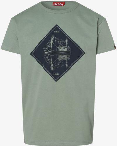 Zielona t-shirt Derbe