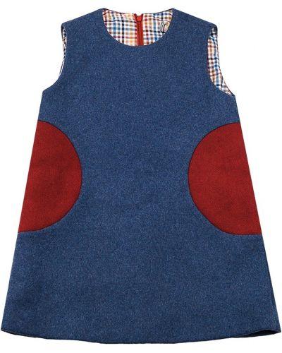 Платье хлопковое шерстяное #mumofsix