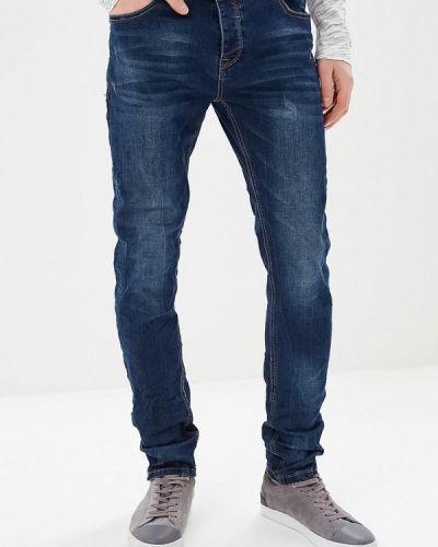 Синие джинсы-скинни Mezaguz