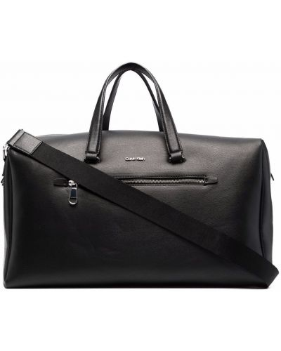 Дорожная сумка из полиэстера - черная Calvin Klein