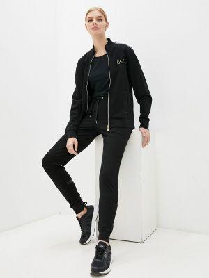 Спортивный костюм - черный Ea7