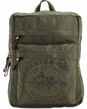 Zielony plecak Campomaggi