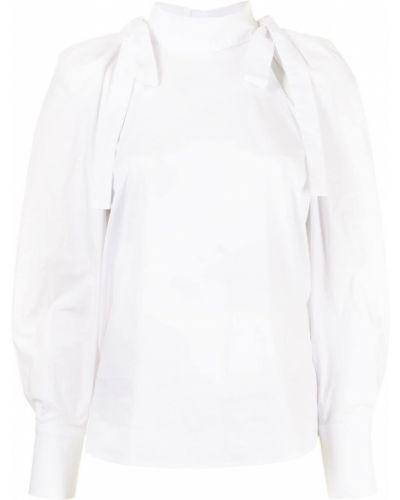 Блузка с бантом - белая Alice Mccall