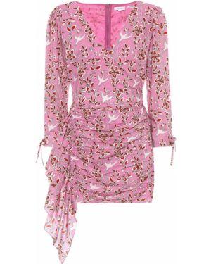 Różowa sukienka bawełniana Rhode