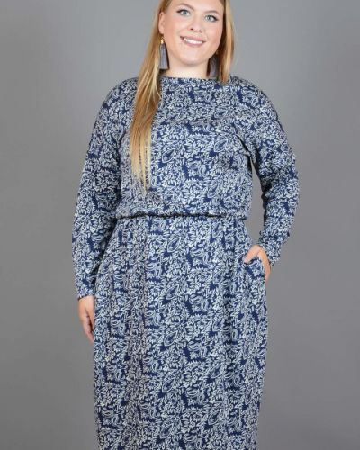 Платье миди в стиле бохо на резинке Avigal (avrora)