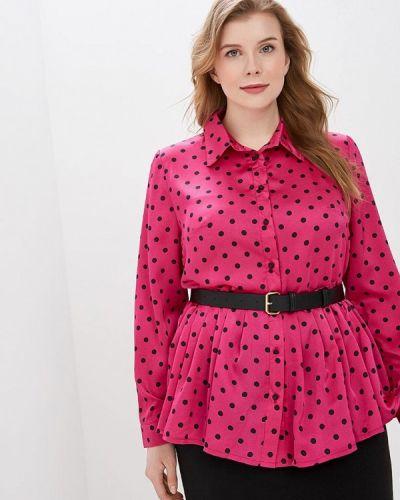 Блузка розовая весенний Tutto Bene Plus
