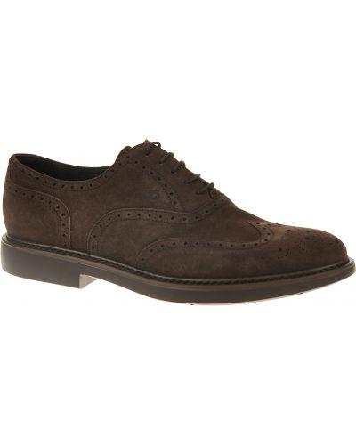 Кожаные туфли - коричневые Samsonite