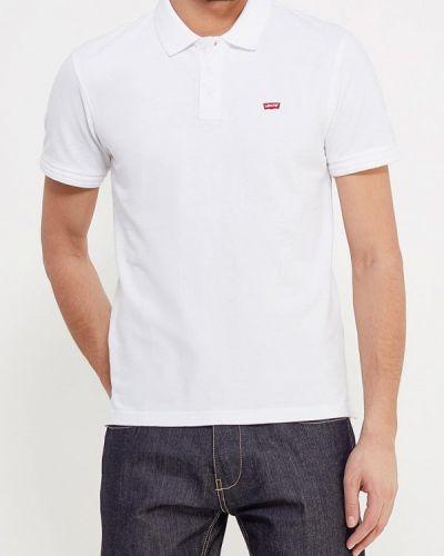 Белое поло с коротким рукавом Levi's®