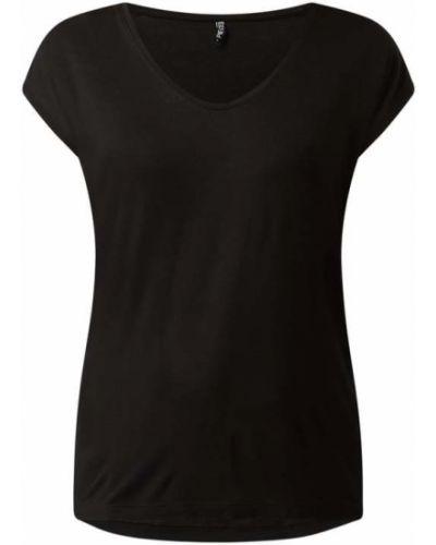 Czarna bluzka z wiskozy Pieces