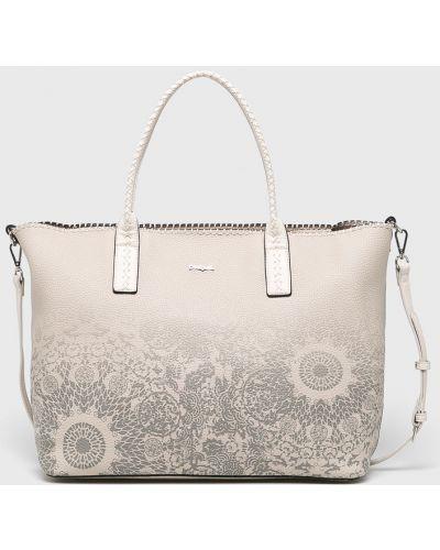 Кожаный сумка с ручками виниловая Desigual