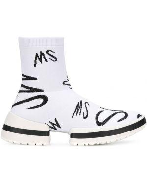 Акриловые белые носки Stuart Weitzman