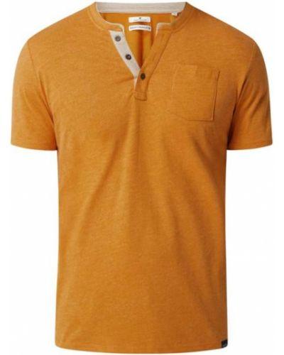 Żółta t-shirt bawełniana Tom Tailor