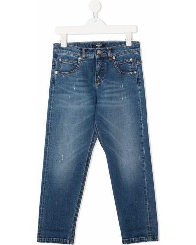 Dżinsowa jeansy Balmain Kids