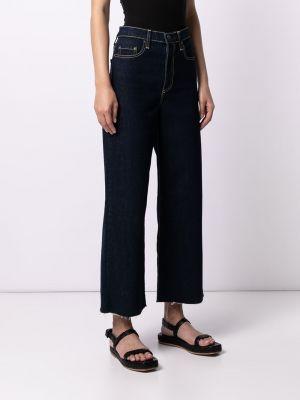 Укороченные синие джинсы классические Nobody Denim