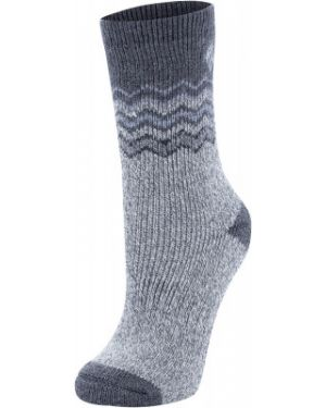 Высокие носки шерстяные плоский Columbia
