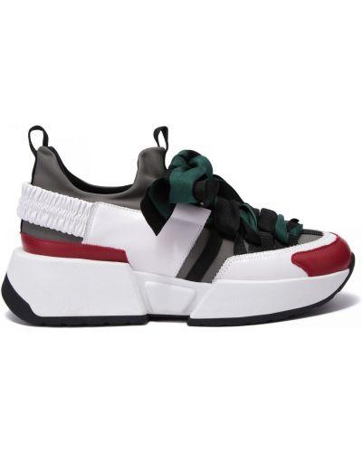 Кожаные кроссовки Doria Maria