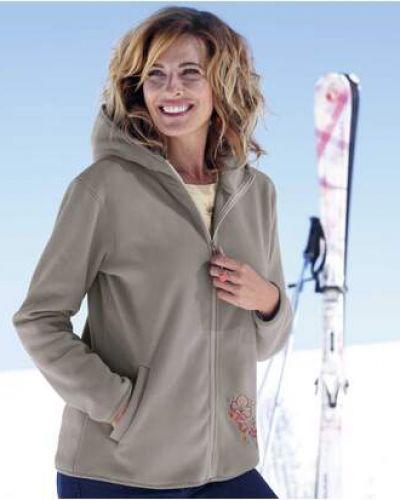 Флисовая теплая серая куртка Atlas For Men