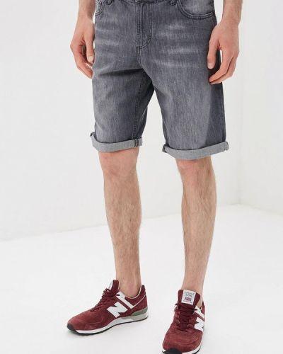 Черные джинсовые шорты Tom Tailor