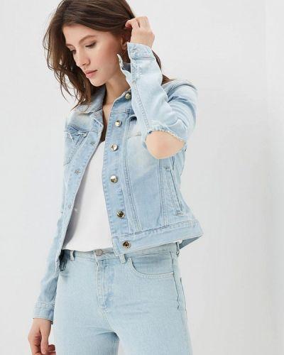 Голубая джинсовая куртка Met