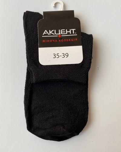 Носки из полиамида - черные Accent