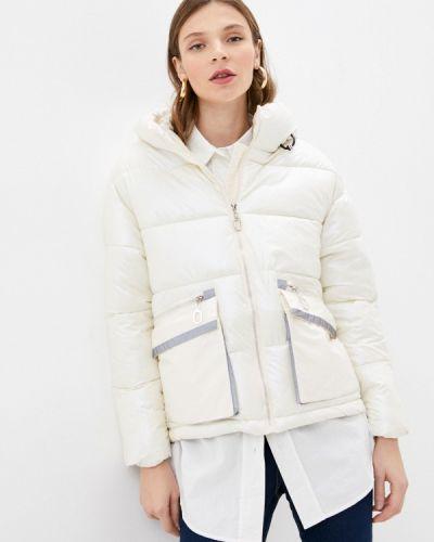 Бежевая утепленная куртка Miss Gabby