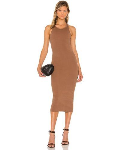 Трикотажное платье миди Pam & Gela