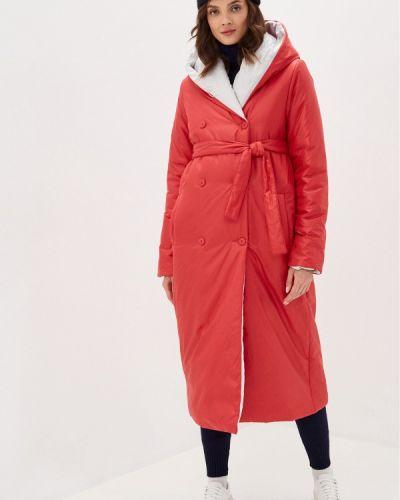 Утепленная красная куртка Doctor E