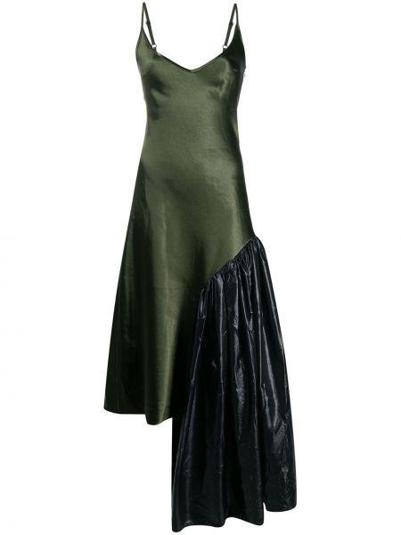 Sukienka rozkloszowana - czarna Collina Strada