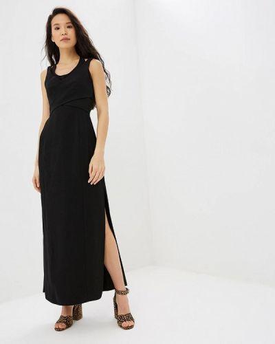 Вечернее платье черное Adolfo Dominguez