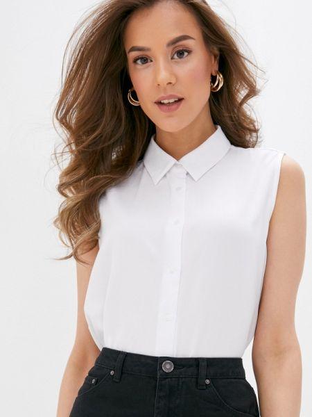 Блузка без рукавов белая весенний Concept Club
