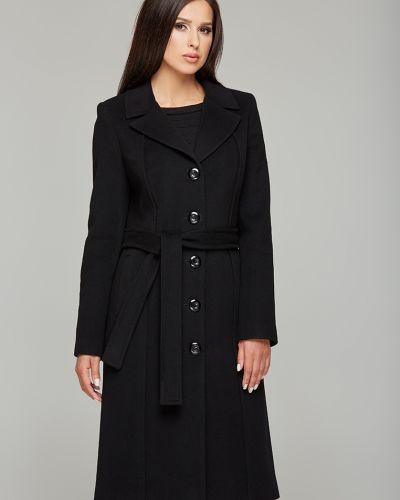 Однобортное кашемировое пальто на пуговицах Danna