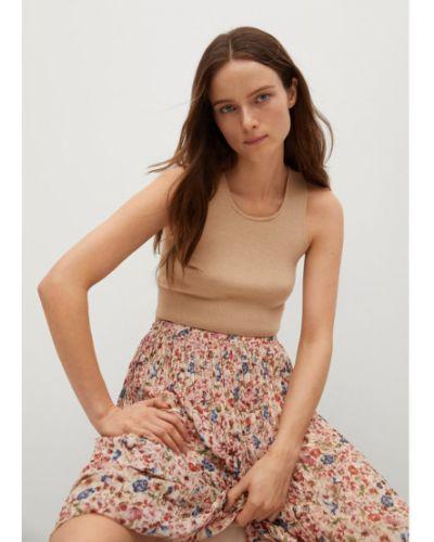 Różowa spódnica plisowana Mango