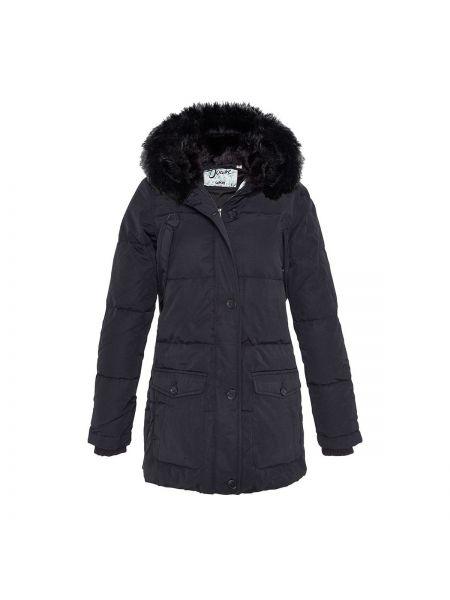 Пальто с капюшоном до колен пуховое Schott