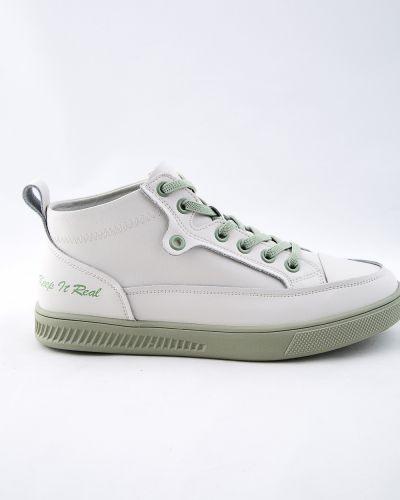 Кожаные ботинки - бежевые Spagna