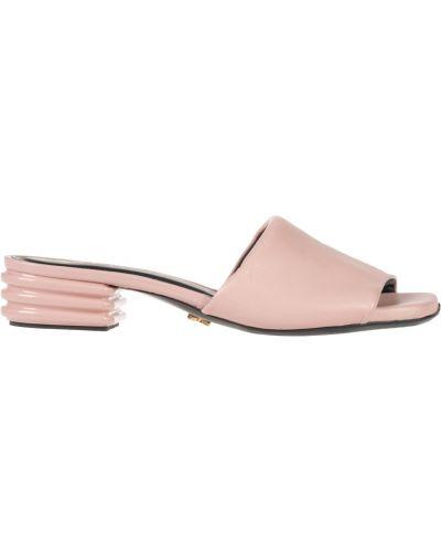 Мюли розовый на каблуке Renzi