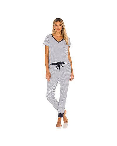 Пижамный шелковый белый купальник эластичный Splendid