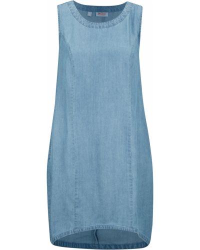 Джинсовое синее платье Bonprix