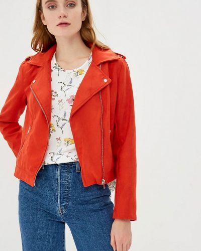 Куртка весенняя красная Jacqueline De Yong
